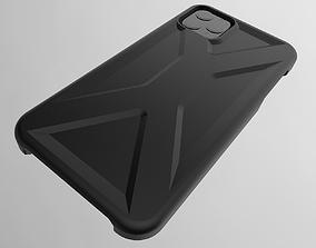iPhone 11 Pro Max Case Vector 3D print model