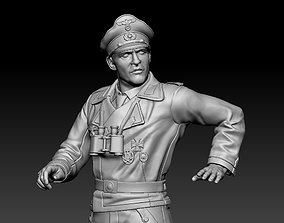 fascist 3D printable model German officer