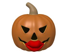 Pumpkin Kisses Make Me Boogie 3D The simpsons Homer