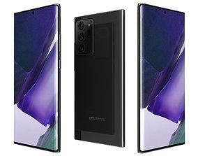 3D Samsung Galaxy Note20 Ultra Mystic Black