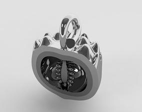 Fruit pendant 3D printable model