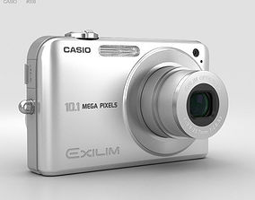 3D model Casio Exilim EX- Z1050 Silver
