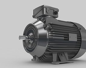 Electric Motor Standart 3D model