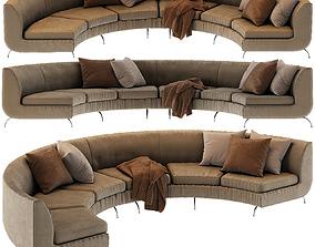 3D model Modern Sofa Dubuffet Minotti style