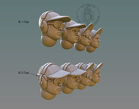 Pilot Head With B-Cap 3D printable model