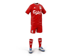 Soccer Clothes Liverpool 3D model