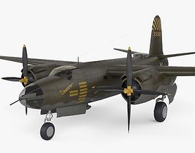 Martin B-26 Marauder 3D
