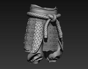 Samurai Leg Armor 3D
