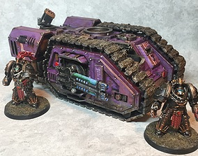 Tempest Warriors Heavy Assault Resistance 3D print model 2