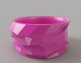 Bangle LowPoly 3D printable model