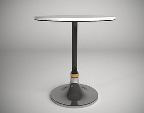 3D asset Marble Cocktail Round Table