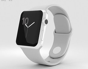 Apple Watch Edition Series 2 38mm White Ceramic 3D model 2