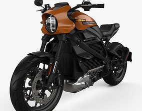 3D Harley-Davidson LiveWire 2019