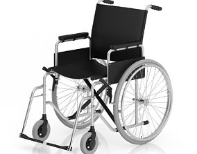 3D model medical Wheelchair