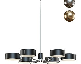 3D Crate and Barrel - Axle Chandelier