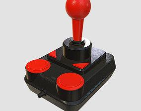 Retro Kempston Joystick 3D model game-ready