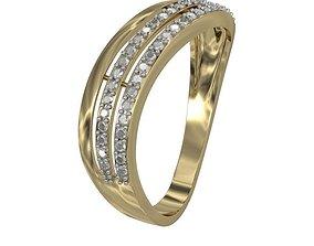 3D print model Ring 3line