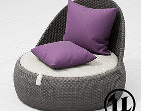 Dedon Dala Chair1 UE4 3D model