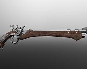 Flint pistol 1 3D model