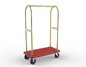 Hotel Trolley 02 3D