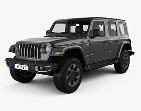 unlimited 3D Jeep Wrangler Unlimited Sahara 2018