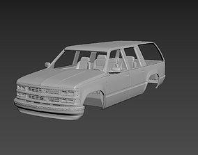 3D printable model Chevrolet Suburban 1999 Body For Print