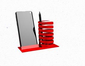 Phone holder with F1 logo 3D printable model