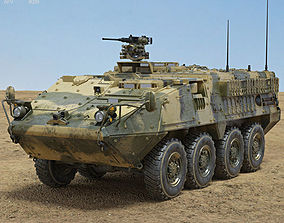 3D M1126 Stryker ICV