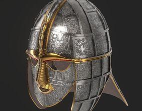 Sutton Hoo Helmet 3D asset