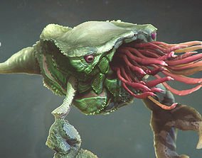 3D Sea Creature - Highpoly