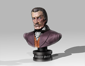 3D print model Bust Vincent Price