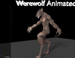 3D model Werewolf Animated