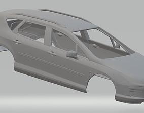Peugeot 407 SW Printable Body Car