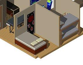 3D printable model Simple House