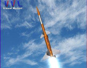 Gamma Centauro Rocket 3D model