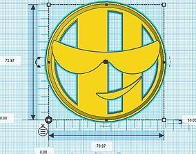3D printable model Emojis Cookie Cutter Set
