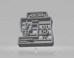 set of cookie shapes 3D print model