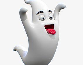 3D model Cartoon Ghost Character