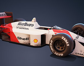 McLaren Mp4-4 3D