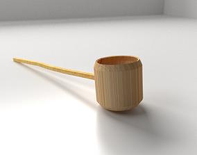 3D model Hishyaku Water Ladle