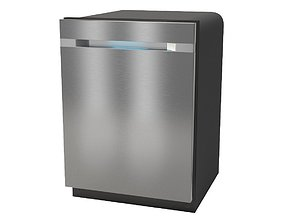Built-in dishwasher Samsung DW80M9990UM 3D