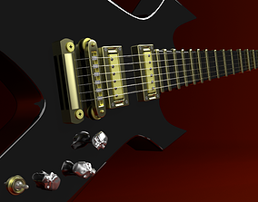 gibson Electric Guitar 3D model
