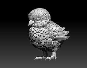 3D printable model chick