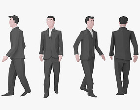 Character Low Poly 2 3D model