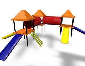 3D asset Park Slide