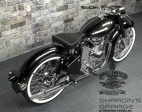 Royal Enfield Vintage Bike 3D model