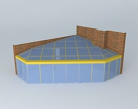 Conservatory A1271 3D model