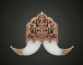 3D print model Tiger Claw Brooch