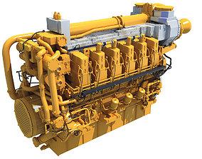 3D Ship Engine
