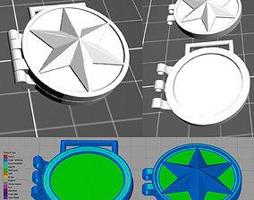 Cosplay Props - X23 Necklase 3D print model